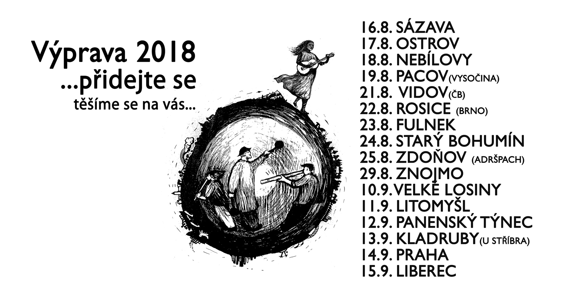 Výprava 2018