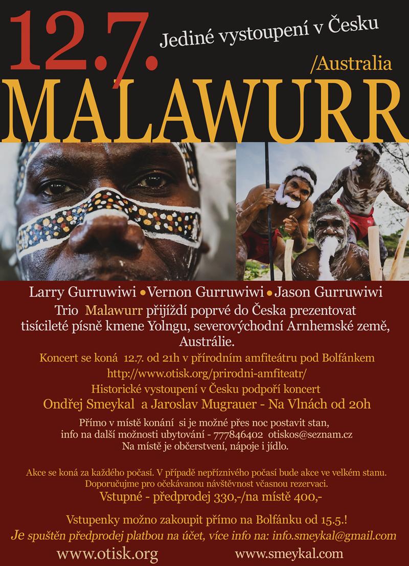 Malawurr - pozvánka na 12.7.